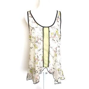 Band of Gypsies Floral Tank